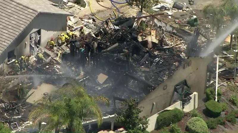 New House Explosion in Southern California Kills Gas Company Technician, Injures Three Firefighters and 12 Others