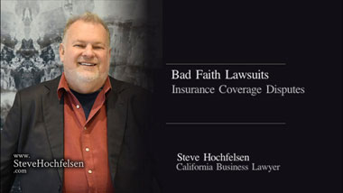 Bad Faith Lawsuits